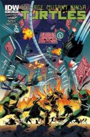 Teenage Mutant Ninja Turtles #18 - Cover A